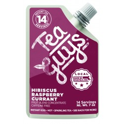Hibiscus Raspberry Currant - 7oz. Concentrate Pouch